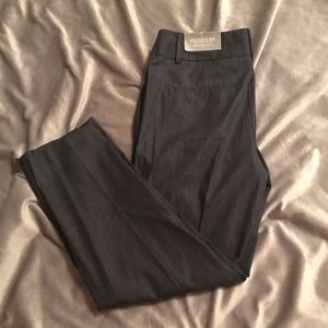Cropped career pants from Ann Taylor